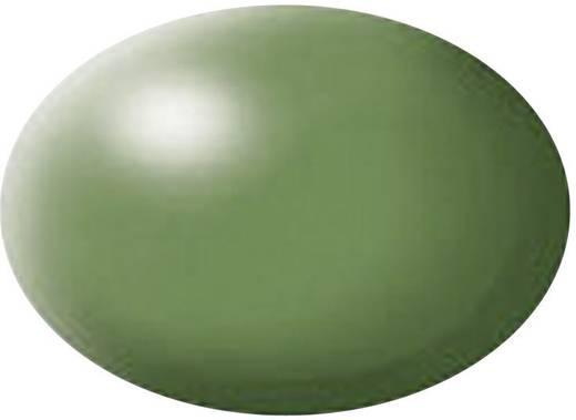 Festék, páfrányzöld, selymesmatt, színkód: 360 RAL, színkód: 6025, 18 ml, Revell Aqua