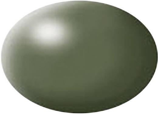 Festék, olivazöld, selyemmatt, színkód: 361 RAL, színkód: 6003, 18 ml, Revell Aqua