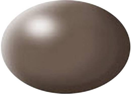 Festék, barna, selyemmatt, színkód: 381 RAL, színkód: 8025, 18 ml, Revell Aqua