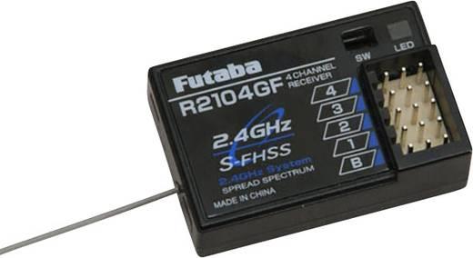 4 csatornás vevő, 2,4 GHz Futaba dugaszoló rendszerrel, Futaba