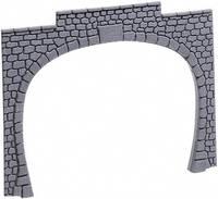 60020 H0 Tunnel-Portal 2 sínes Műanyag modell