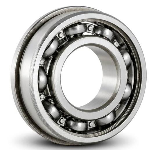 Radiális hornyolt golyóscsapágy karimával 13 mm 5 mm 4 mm