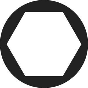 Toolcraft hatlapfejű anya, sárgaréz, M1,6, DIN 934, 20 db (216356) TOOLCRAFT