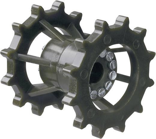 Dupla lánckerék, Ø 12 mm