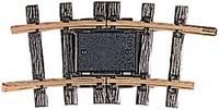 11152 G LGB sín Elválasztó sín, hajlított 15 ° 645 mm LGB