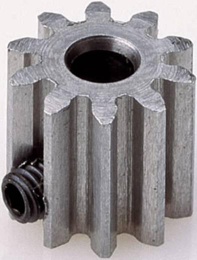 Motor fogaskerék Reely Modul típus: 0.8 Furat átmérő: 3.2 mm Fogak száma: 14