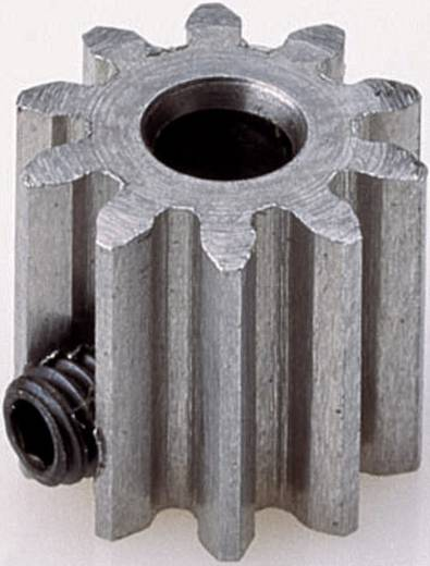 Motor fogaskerék Reely Modul típus: 0.6 Furat átmérő: 3.2 mm Fogak száma: 12