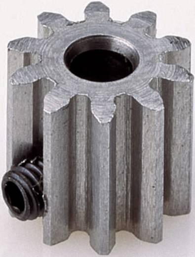 Motor fogaskerék Reely Modul típus: 0.6 Furat átmérő: 3.2 mm Fogak száma: 18