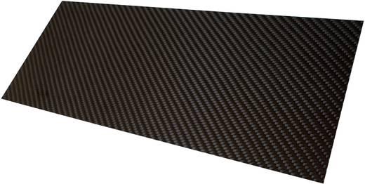 Szén lemez Carbotec (H x Sz) 350 mm x 150 mm 2 mm