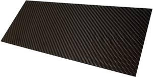 Szén lemez Carbotec (H x Sz) 350 mm x 150 mm 2 mm (CFK-PLATTE 2MM) Carbotec