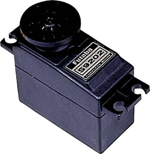 Futaba Standard szervó S 9202 Analóg szervó Hajtómű-anyag: műanyag Dugaszoló rendszer: Futaba