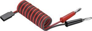 Modelcraft Vevő töltőkábel [2x Banándugó - 1x JR dugó] 25.00 cm 0.25 mm² Modelcraft