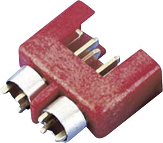 Nagyáramú csatlakozó dugó, piros