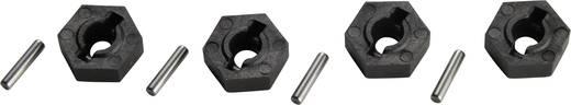 Reely 1:10 kerék hatszög, 12/2 mm, fekete, V21071