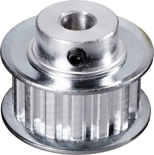 Alumínium Fogazott tárcsa Reely Furat átmérő: 8 mm Ø: 57 mm Fogak száma: 35