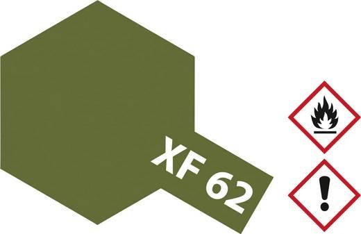 TAMIYA XF-62 Akril lakk matt olajszürke