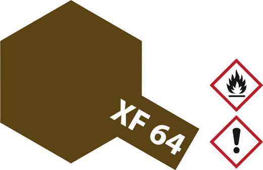 TAMIYA XF-64 Akril lakk matt piros/barna