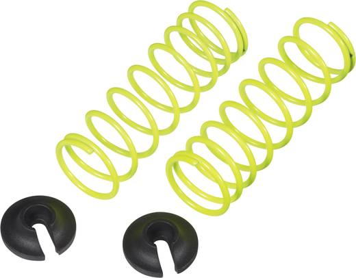 REELY 1:10 tuningrugók, 50,5 mm, 1 pár, lágy, neon-sárga, CB3393