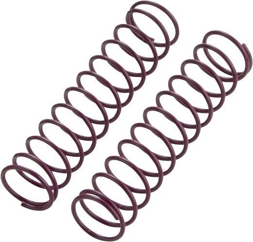 REELY 1:10 tuningrugók, 72,5 mm, 1 pár, közepes, lila, VB11204P