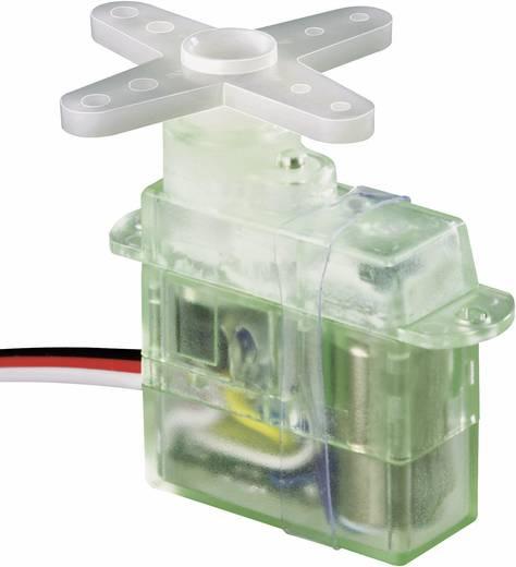 Modelcraft Mikro szervó ES-07 Analóg szervó Hajtómű-anyag: műanyag Dugaszoló rendszer: JR