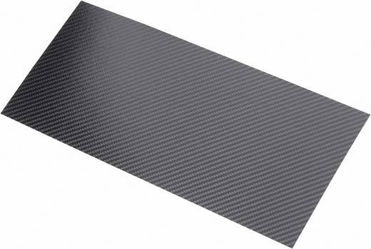 Szén lemez Carbotec (H x Sz) 340 mm x 150 mm 0.55 mm