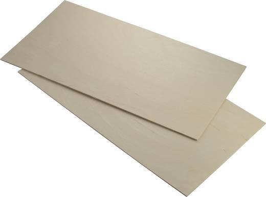 Reely Nyírfa rétegelt lemez (H x Sz x Ma) 500 x 250 x 3 mm