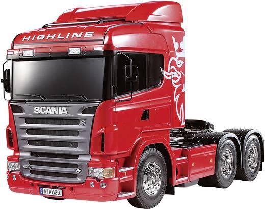 1:14 Tamiya nyerges vontató: Scania R620 építőkészlet