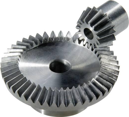 Acél kúpkerekek 17.4 / 30.6 mm 15/30