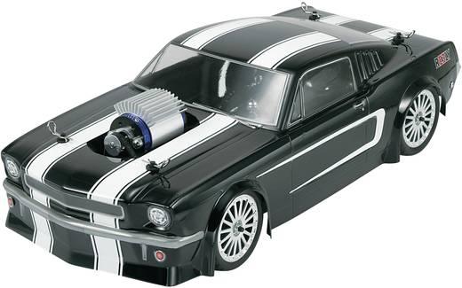 1:10 karosszéria, Mustang Hot Rod Reely 210114P3E Ersatzteil, 265 mm, fekete, 1:10