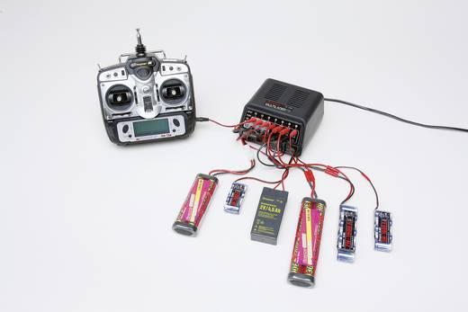 Univerzális akkutöltő ólom, NiCd, NiMH modell akkukhoz 230V, 2A, Graupner 6455