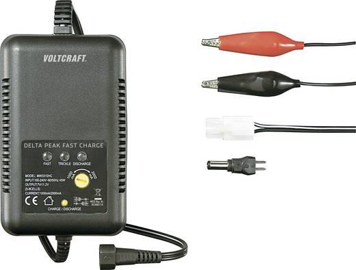 Akkutöltő NiCd, NiMH modell akkukhoz 110/230V, 1-2A, 5/6/7/8 cella, VOLTCRAFT
