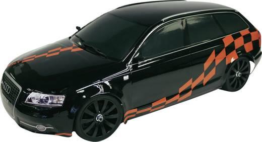 1:10 karosszéria, Audi RS6 Reely 460 mm, Fekete / vörös, 1:10, 200 mm