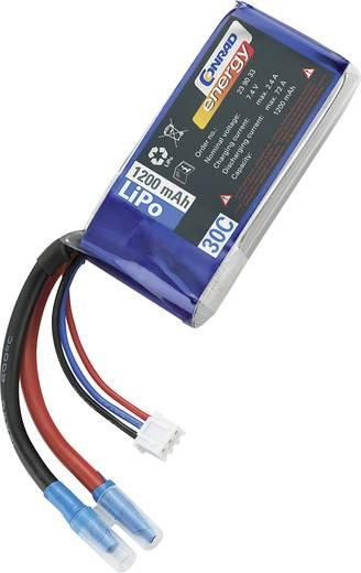 Conrad energy LiPo akku pack, 7,4V 1200mAh 30C, XH