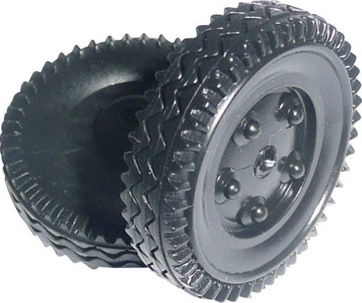 Modelcraft Műanyag üreges abroncsok, 24 x 7 x 1,6 mm