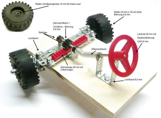 Modelcraft Fogasléc készlet modul 1