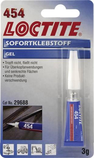 Pillanatragasztó GEL 3 G LOCTITE 454