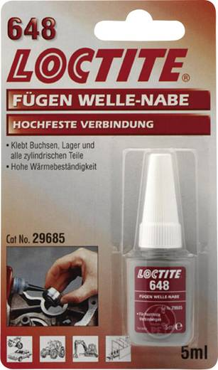 Loctite persely- és csapágyragasztó 5 ml, 648