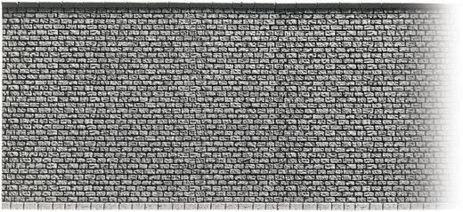 Lakkozatlan kőfal vasút modellekhez NOCH 58044