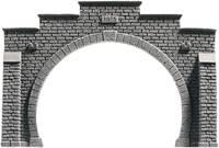 NOCH 34852 PROFI plus N Tunnel-Portal 2 sínes Keményhab kész modell, Festett NOCH