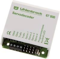 Uhlenbrock 67800 Szervodekóder Modul, Kábel nélkül, Csatlakozó nélkül Uhlenbrock