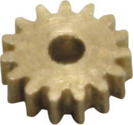 Fogaskerék, sárgaréz, modul 0,2, Z30S