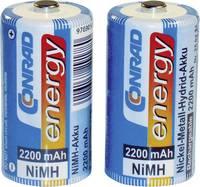 Baby akku C NiMH, 1,2V 2200 mAh, 2 db, Conrad Energy LR14, LR15, C, AM2, MN1400, 814, E93, LR14N, UM2 (250234) Conrad energy