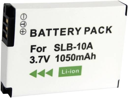 SLB-10A, SLB-010A Samsung kamera akku, 3,7 V 700 mAh, Conrad energy