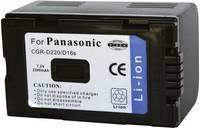CGR-D220 Grundig, Hitachi, Panasonic kamera akku 7,2 V 1800 mAh, Conrad energy Conrad energy
