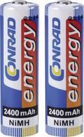 Ceruza akku AA, NiMH, 1,2V 2400 mAh, 2 db, Conrad Energy LR06, AA, LR6, AAB4E, AM3, 815, E91, LR6N (250513) Conrad energy