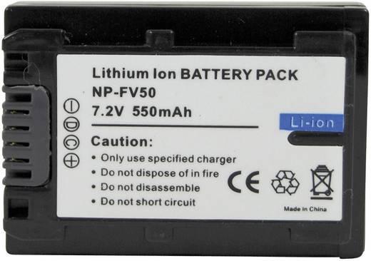 NP-FV50 Sony kamera akku 7,2 V 550 mAh, Conrad energy