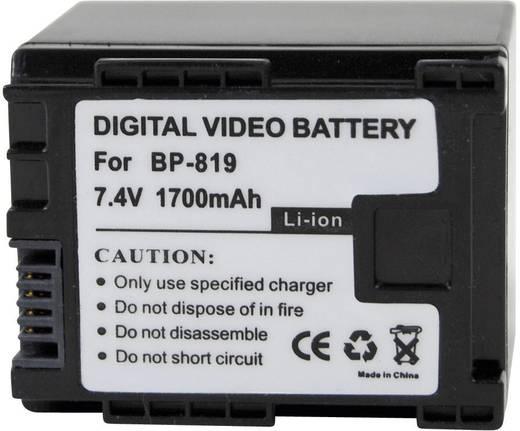 BP-819 Canon kamera akku 7,4 V 1400 mAh, Conrad energy