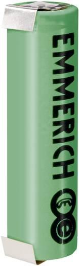 Forrasztható speciális akku 18650 LiFePO 3,6V 1250 mAh, forrfüles, Emmerich ULT 18650 FP