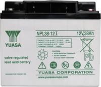 YUASA zselés akkumulátor, 12 V 38 Ah, 10 év (YUANPL38/12) Yuasa