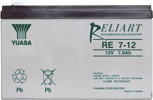 YUASA zselés akkumulátor, 12 V 7 Ah, 10 év Yuasa